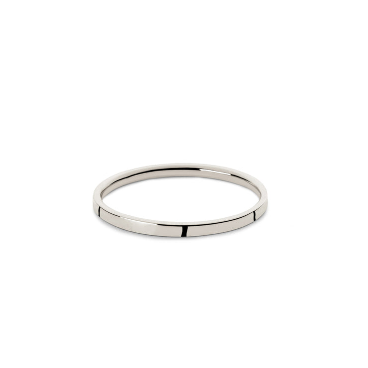 2mm white gold wedding ring