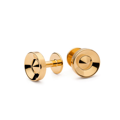alvar gold cufflinks