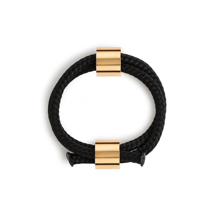 arden black and gold bracelet