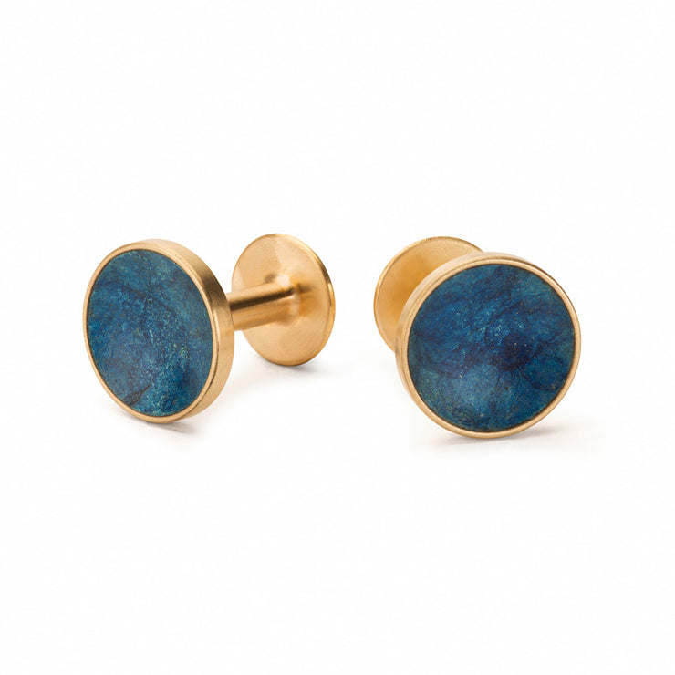 bayley prussian blue cufflinks