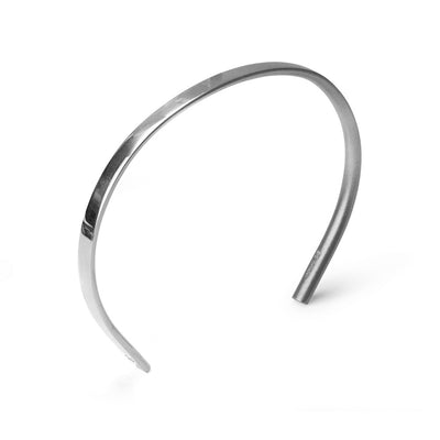 change bracelet | mens silver bracelet | polished blasted | 925 silver