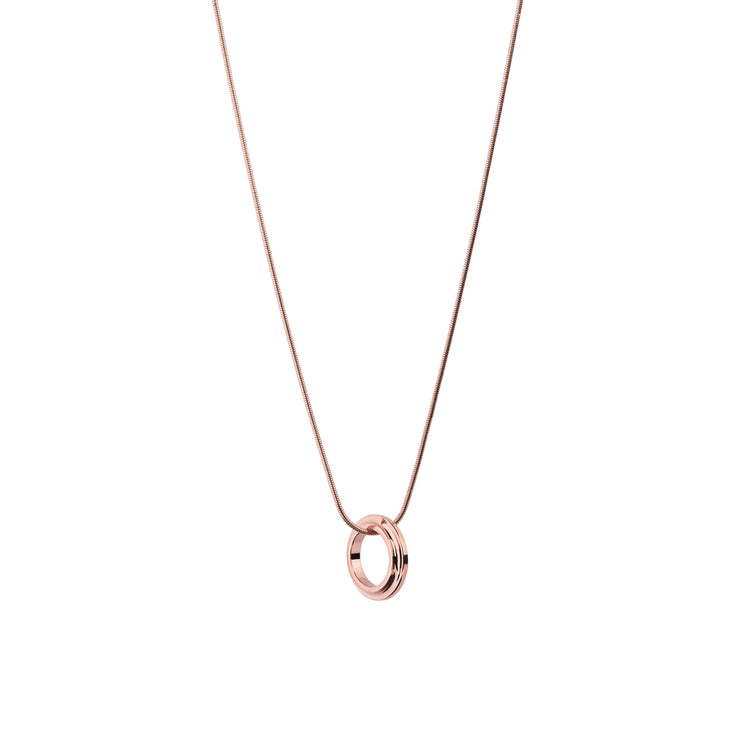 eden rose gold necklace