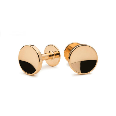 elliot gold cufflinks