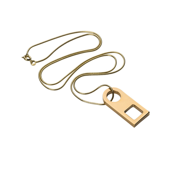 esme gold necklace