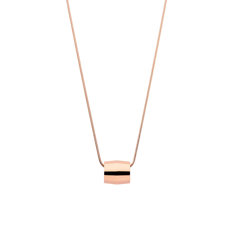hope rose gold necklace