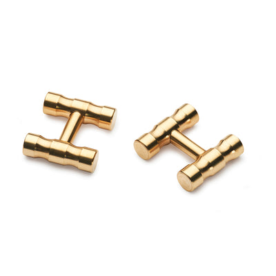 lapworth brass cufflinks
