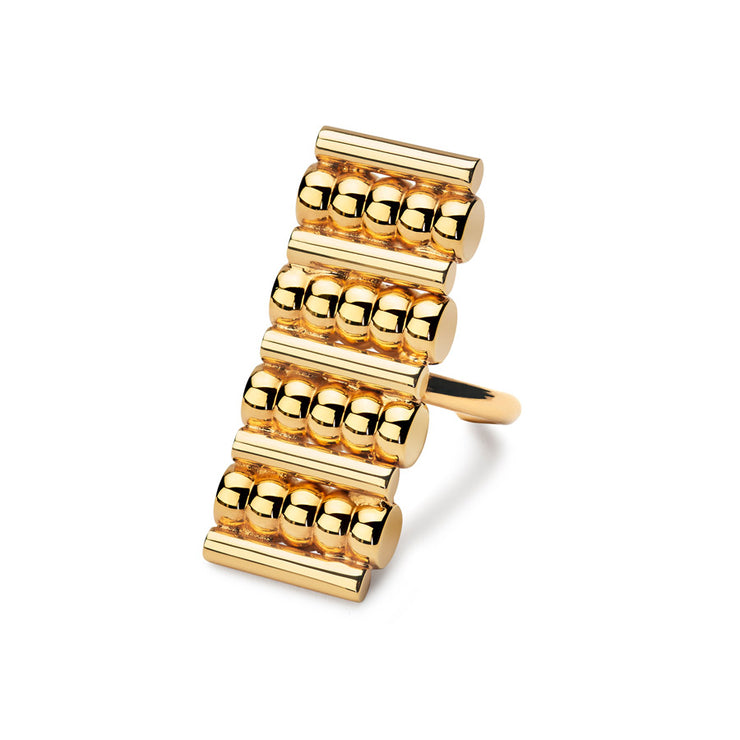 margot gold cocktail ring