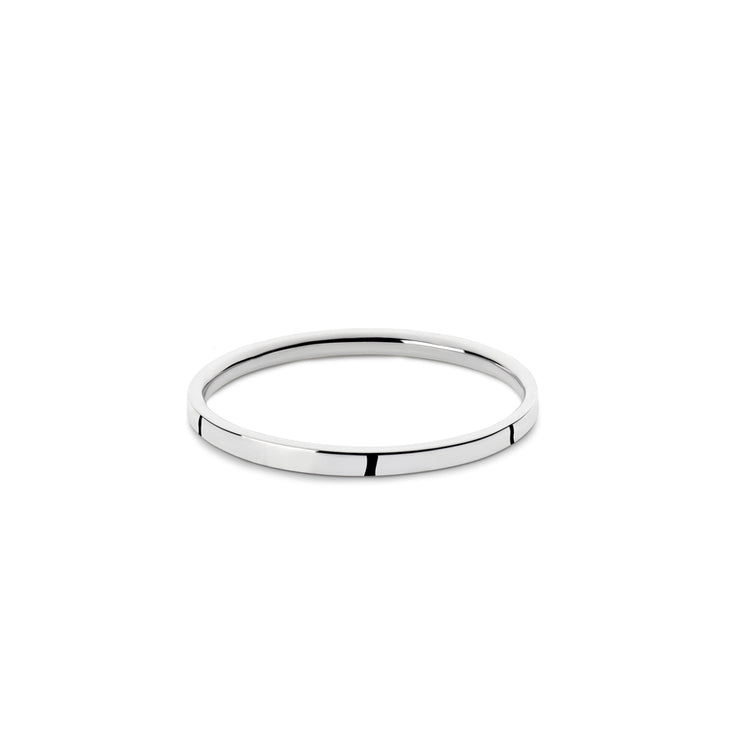 p2 bancroft polished silver ring