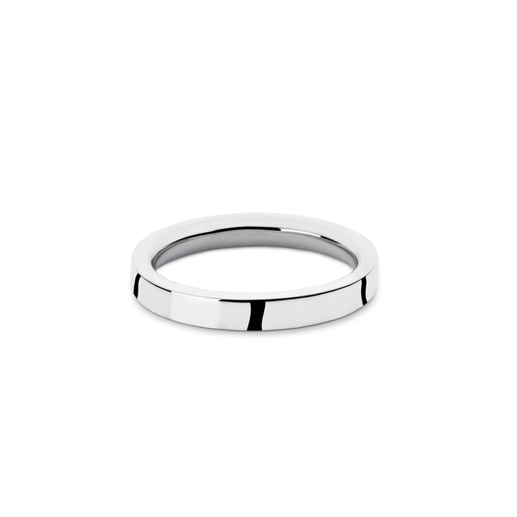 p4 | bancroft polished silver ring