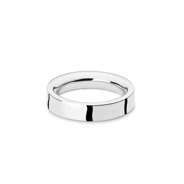 p6 | bancroft polished silver ring