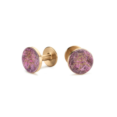 rose patina cufflinks | Alice Made This X jess bird