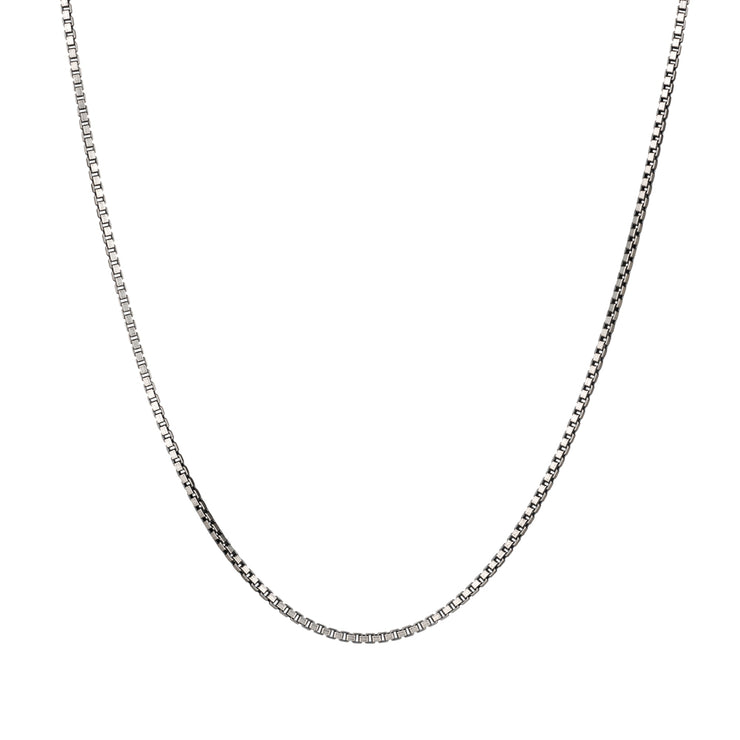silver box chain | best necklace for men