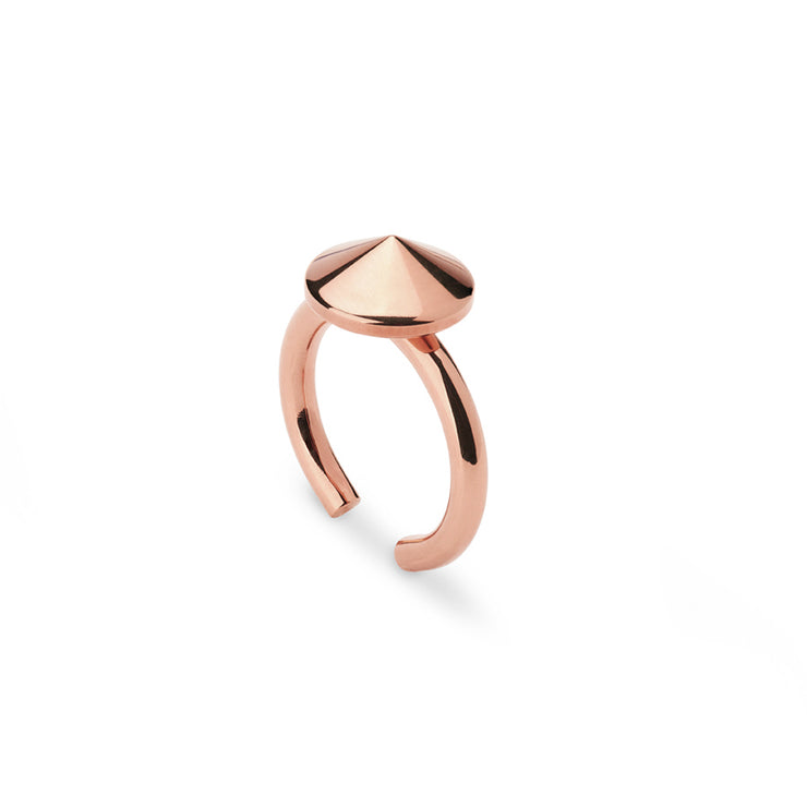 tio rose gold ring
