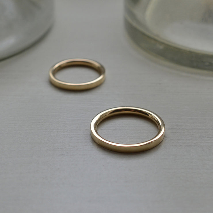 18 carat gold wedding rings | designer wedding rings