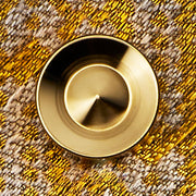 alvar gold cufflink | graphic close up