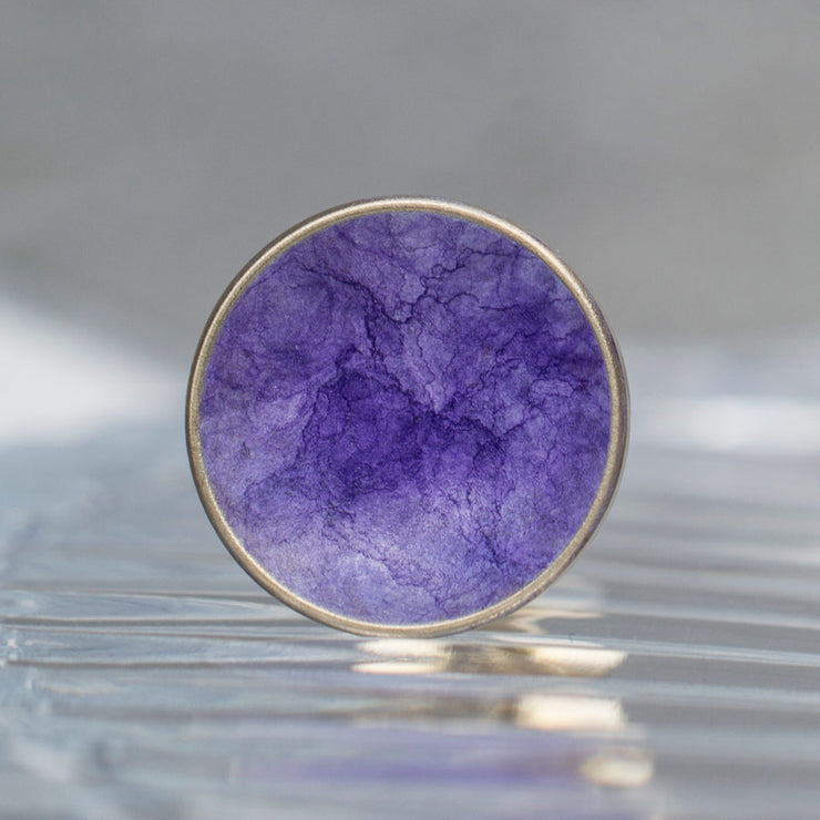 bayley amethyst cufflink | close up