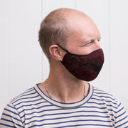 breathable reusable hygienic face mask | how to wear | copper coloured