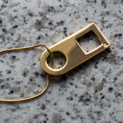 esme gold necklace | close up
