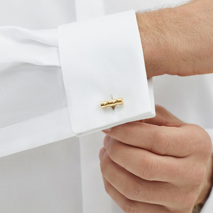 lapworth brass cufflinks | how to wear