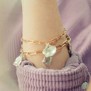maya charm bracelets | gold and silver bracelets | gift idea