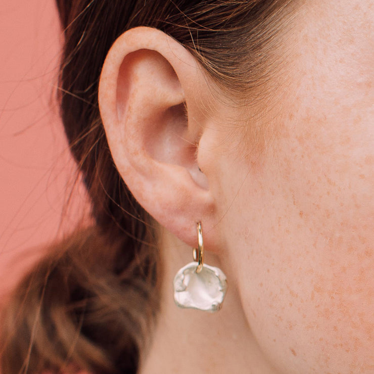maya hoop earring | how to wear
