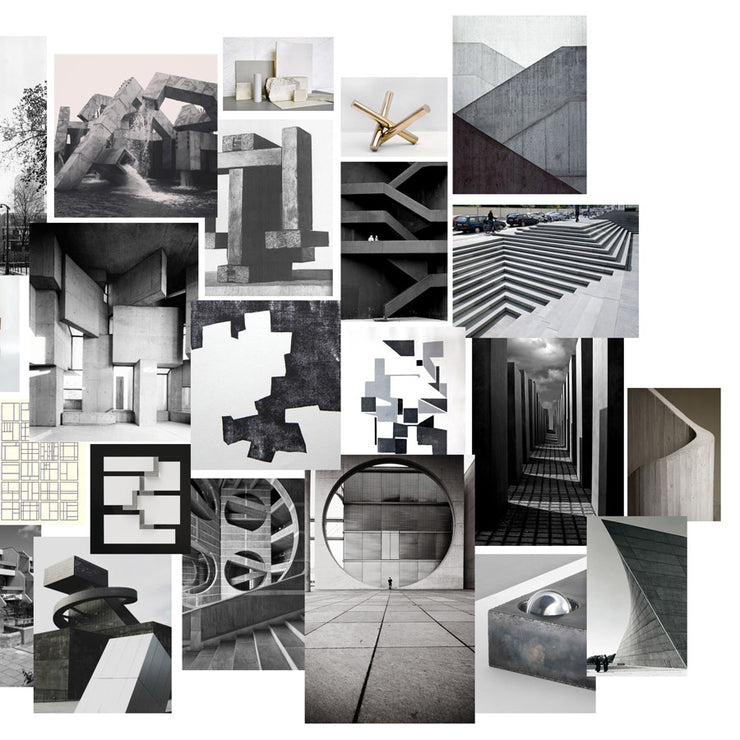 inspired by brutalist architecture | gift set