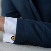 alvar gold cufflink | how to wear