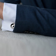 alvar silver cufflinks | how to wear