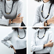 arden statement necklace | how to wear