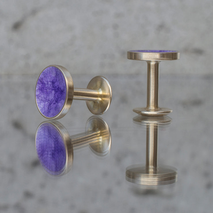 bayley amethyst cufflinks | reflections