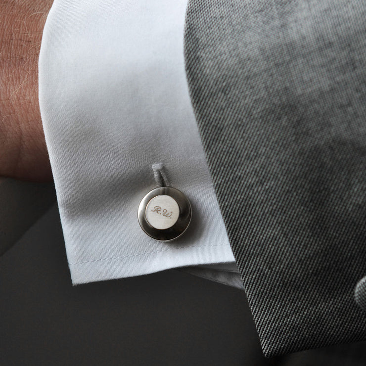 edward steel cufflinks | how to wear