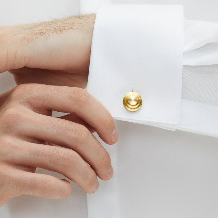jasper gold cufflinks | how to wear