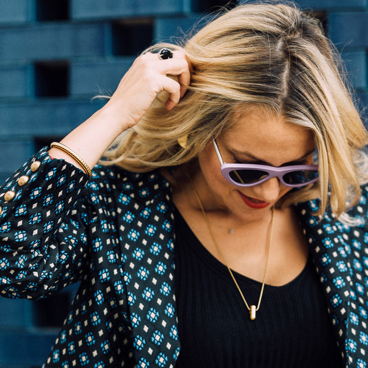 juno gold necklace | how to wear