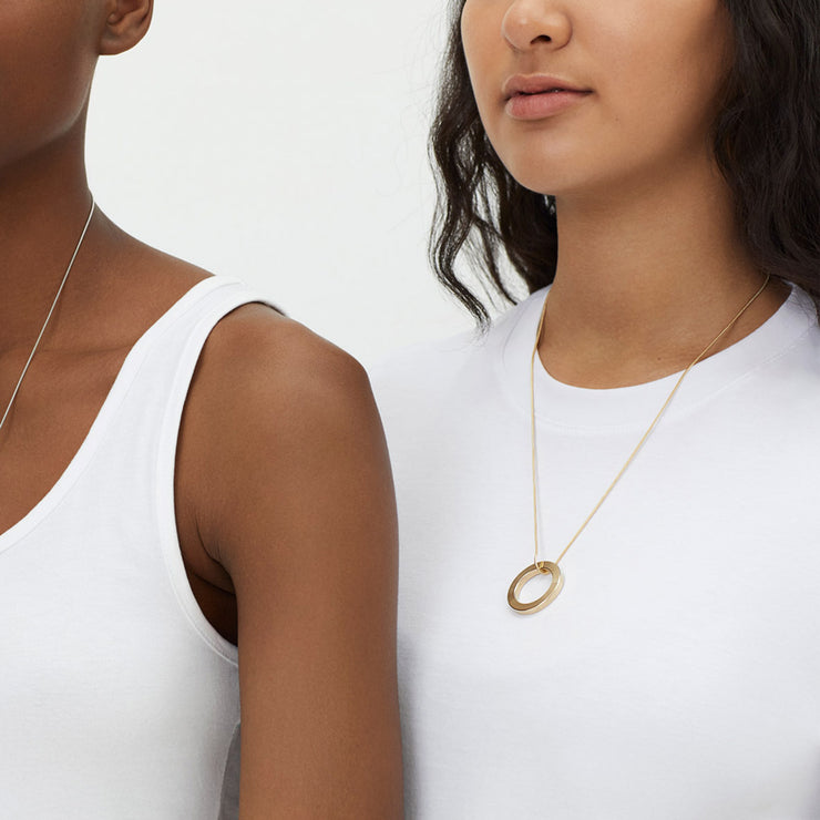 mia gold necklace | how to wear