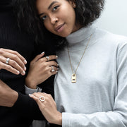 mia silver ring | how to wear