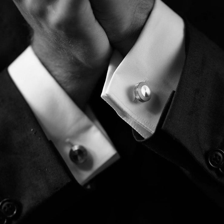 oliver steel cufflink | how to wear