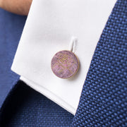 rose patina cufflinks | how to wear