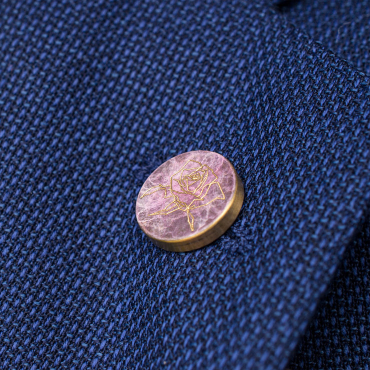 rose patina pin | how to wear