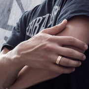 gold signet ring | how to wear