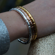 lapworth gold bracelet | how to wear | stacked