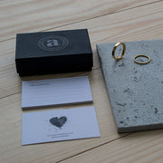 3mm wedding rings with ceremony box