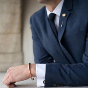alvar cufflink | how to wear | suit