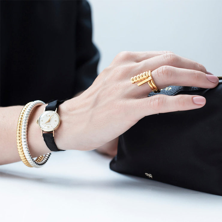 anning gold bracelet | how to wear