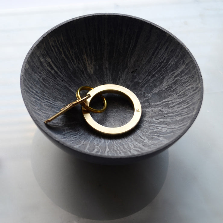 brass key ring | circle key ring