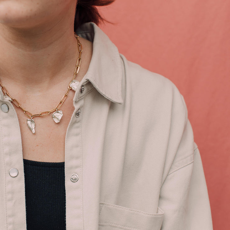 maya choker necklace | how to wear | sustainable jewellery