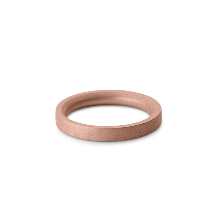 18 carat rose gold wedding ring | wedding band