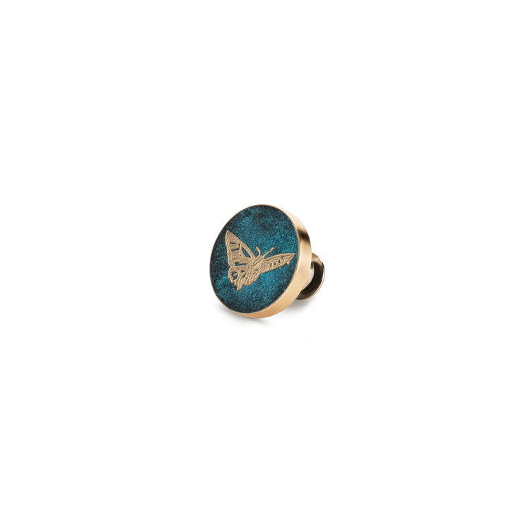 butterfly pin | green lustre