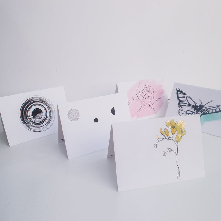 hand painted notecards | made in britain