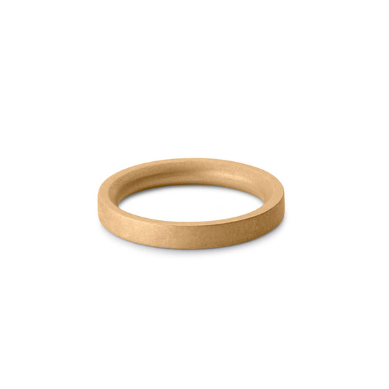 solid gold ring for men | 18ct gold wedding band for men
