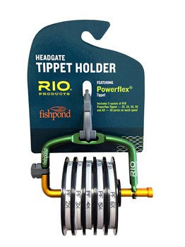 Rio-Fishpond Headgate tippet holder w/tippet